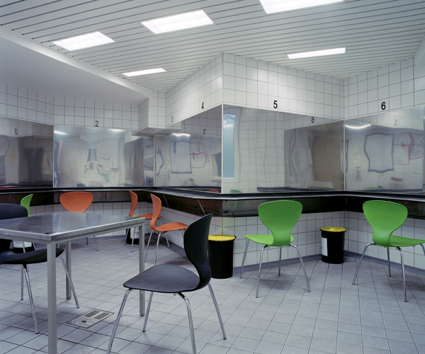 """Soziale Räume"", Drogenkonsumraum 2003, Foto: Bettina Steinacker"