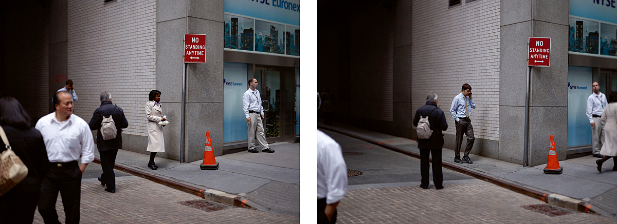 "Paul Graham:  Diptych from ""The Present"""