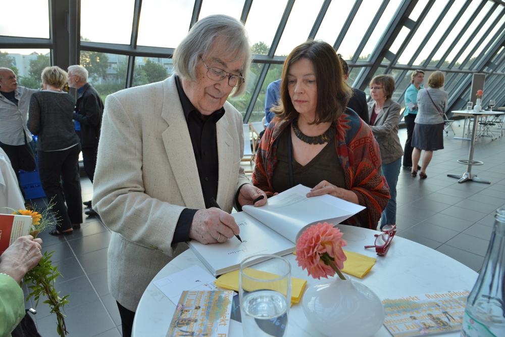 Hans Rudolf Uthoff und Brigitte Kraemer