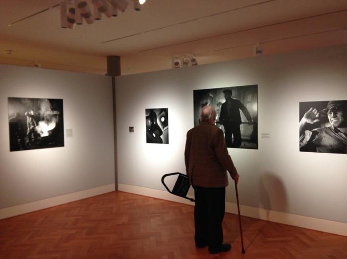Ausstellung Robert Häusser, Foto: Peter Liedtke