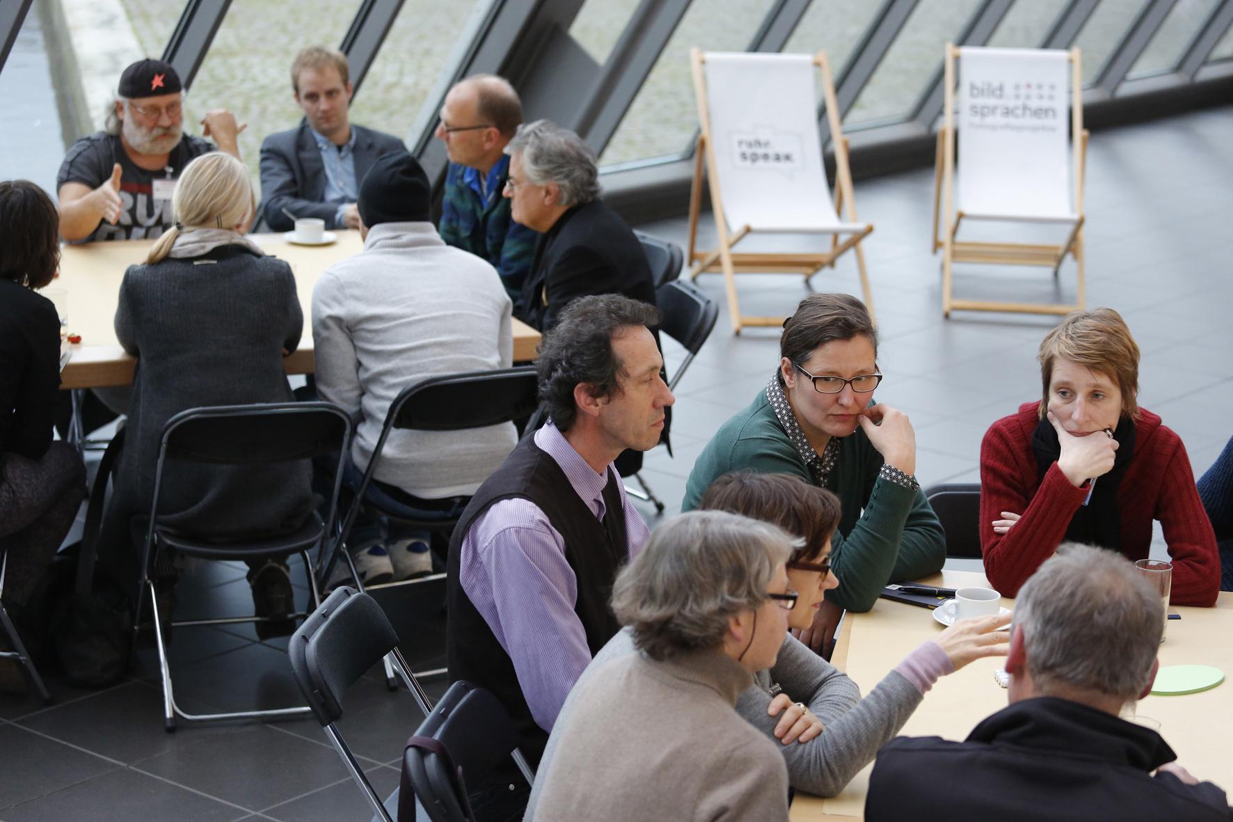 Bildsprachen-Konferenz im Wissenschaftspark.