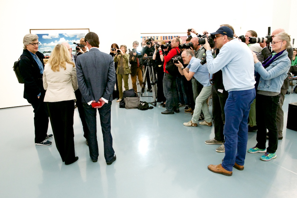 Wim Wenders Fotoausstellung
