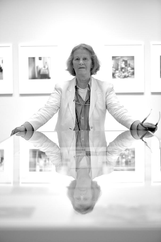 Erika Kiffl - Fotokünstlerin aus Düsseldorf. Foto: Hartmut S. Bühler