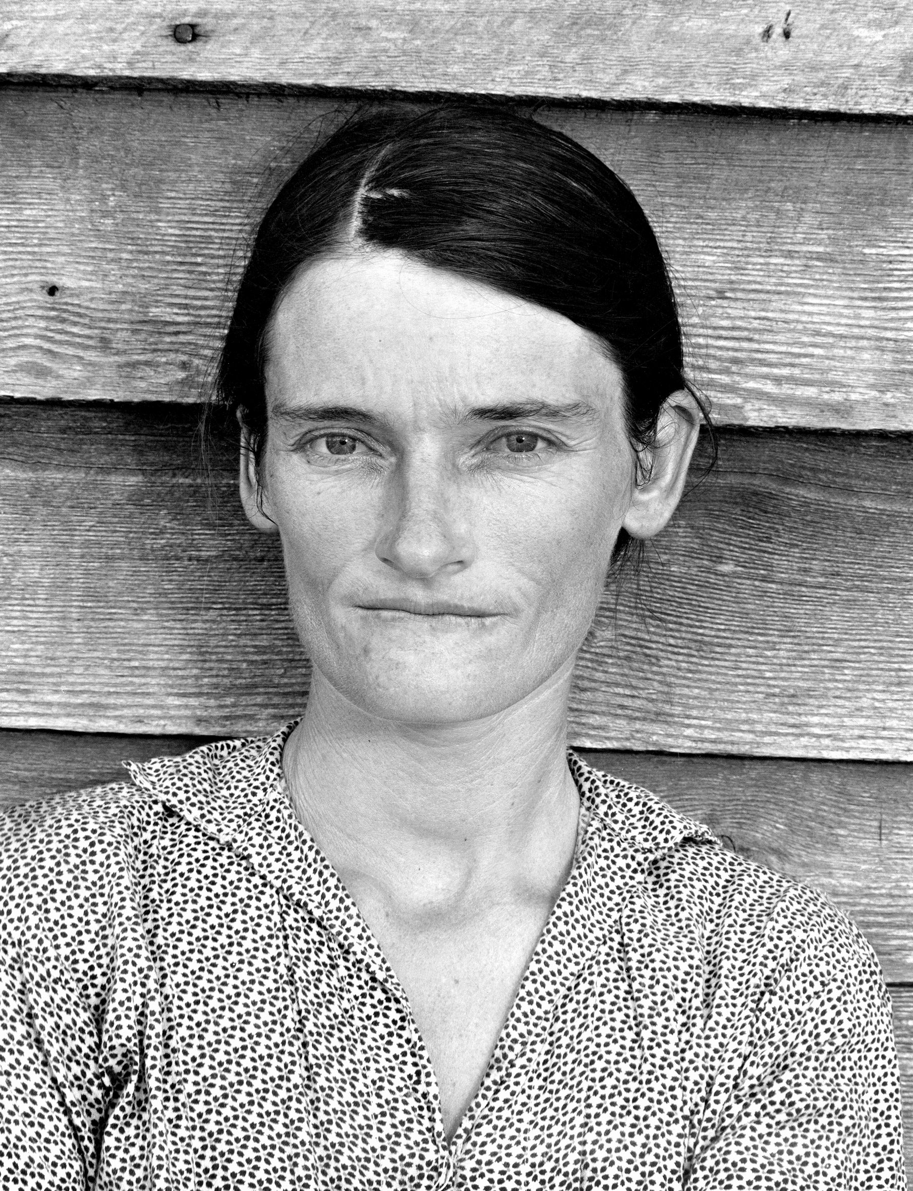 Bild: Walker Evans, Alabama Cotton Tenant Farmer Wife, 1936