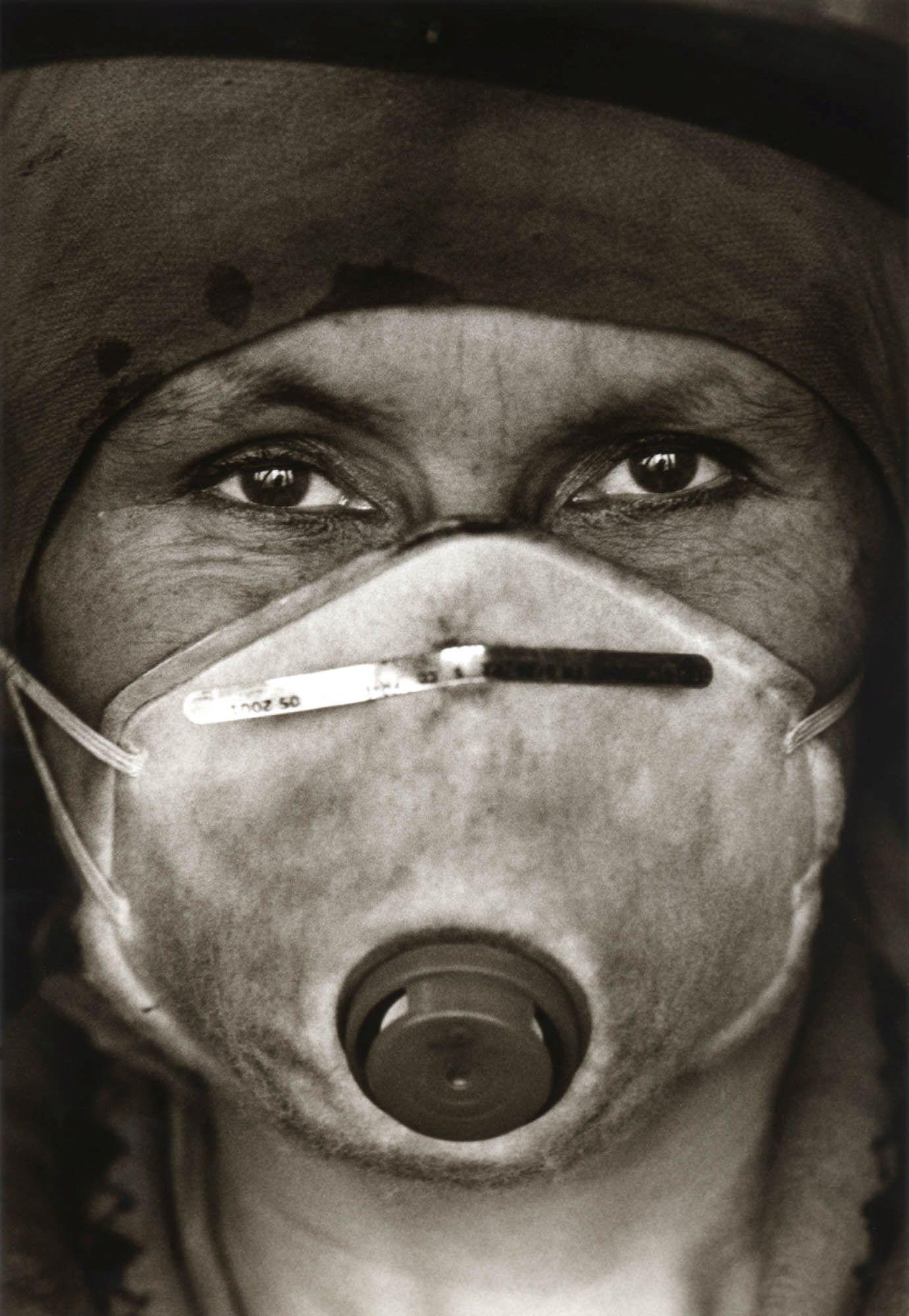 Bild: Dariusz Kantor aus der Serie: Von Kohle gezeichnet - Frauenarbeit im Steinkohlebergbau in Oberschlesien, 2002-2004