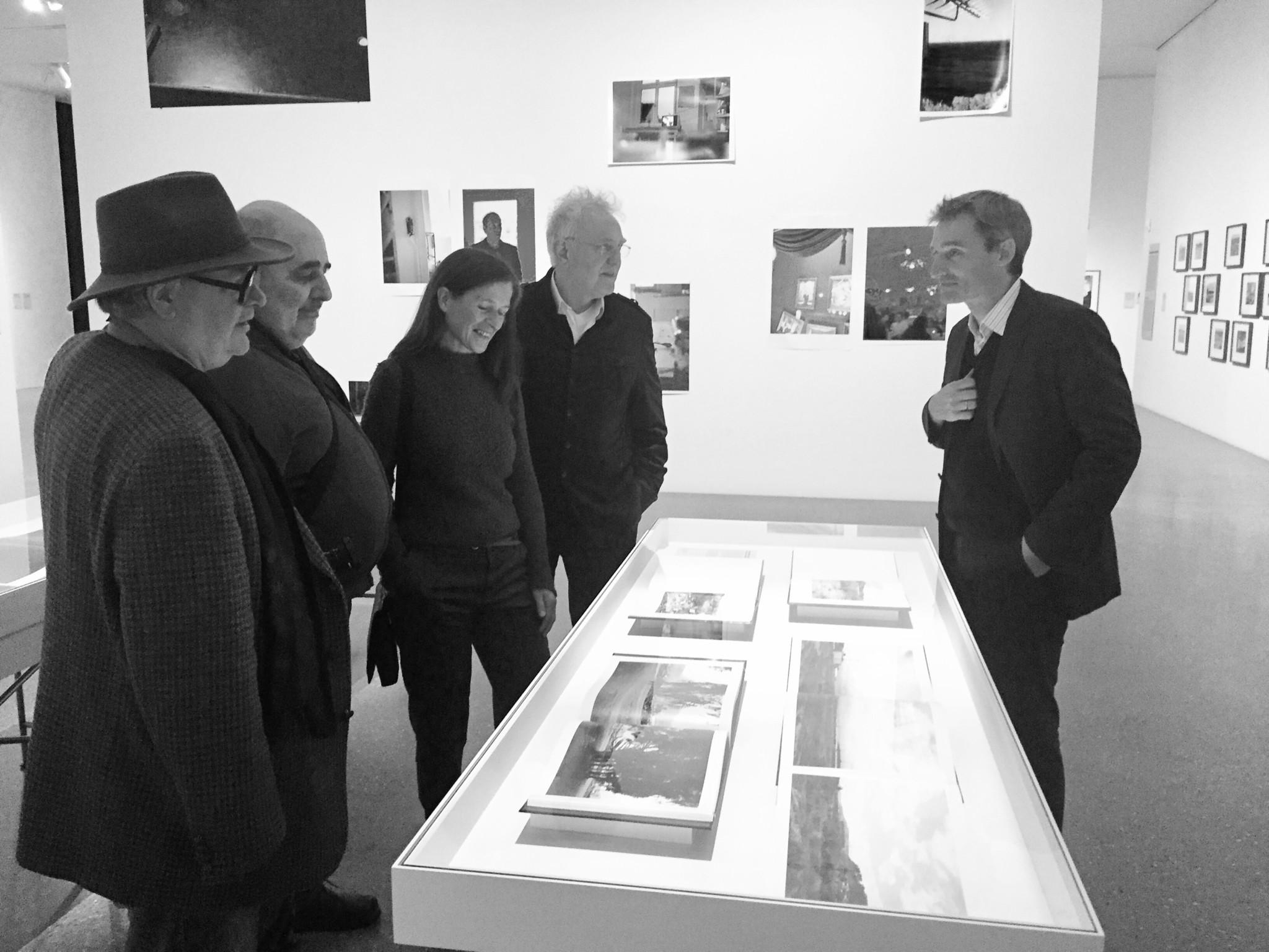 Foto: Peter Liedtke - v.l.n.r. Wilmar Koenig, Volker Heinze, Petra Wittmar, Knut Wolfgang Maron, Florian Ebner