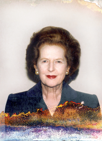 Margaret Thatcher, © Lisa Barnard
