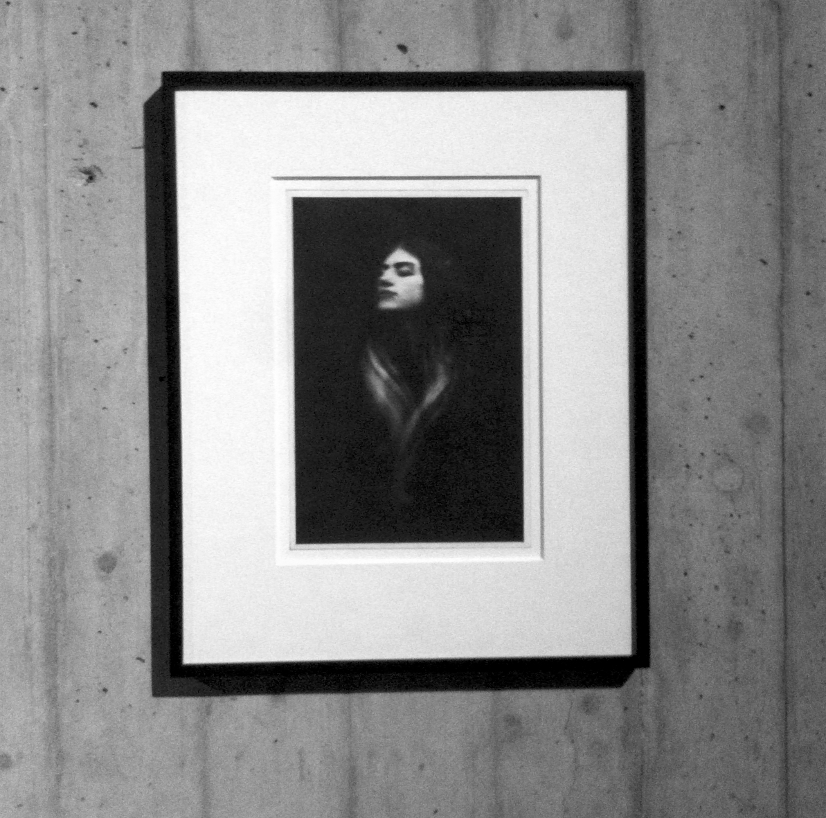 """Donata Wenders """"Photographien"""" in Gladbeck - Ausstellungsfoto: Hartmut Bühler"""