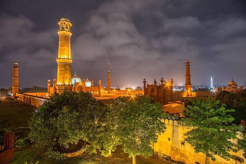 Die Badshahi Moschee in Lahore in Pakistan. Foto: Eckhard Gollnow