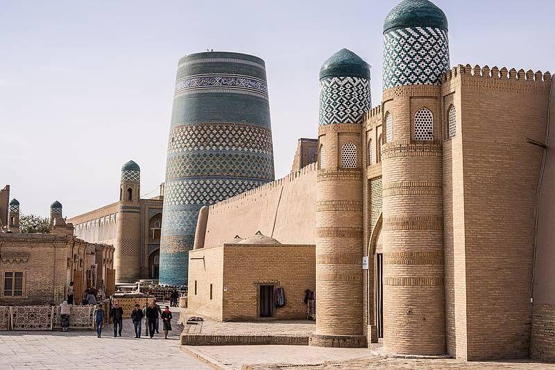 Historische Oasenstadt Khiva in Usbekistan (Weltkulturerbe). Foto: Eckhard Gollnow