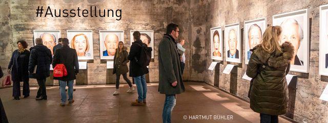 """Pressekonferenz zur Ausstellung """"Survivors"""" in der Mischanlage der Kokerei Zollverein. Foto: Bühler"""