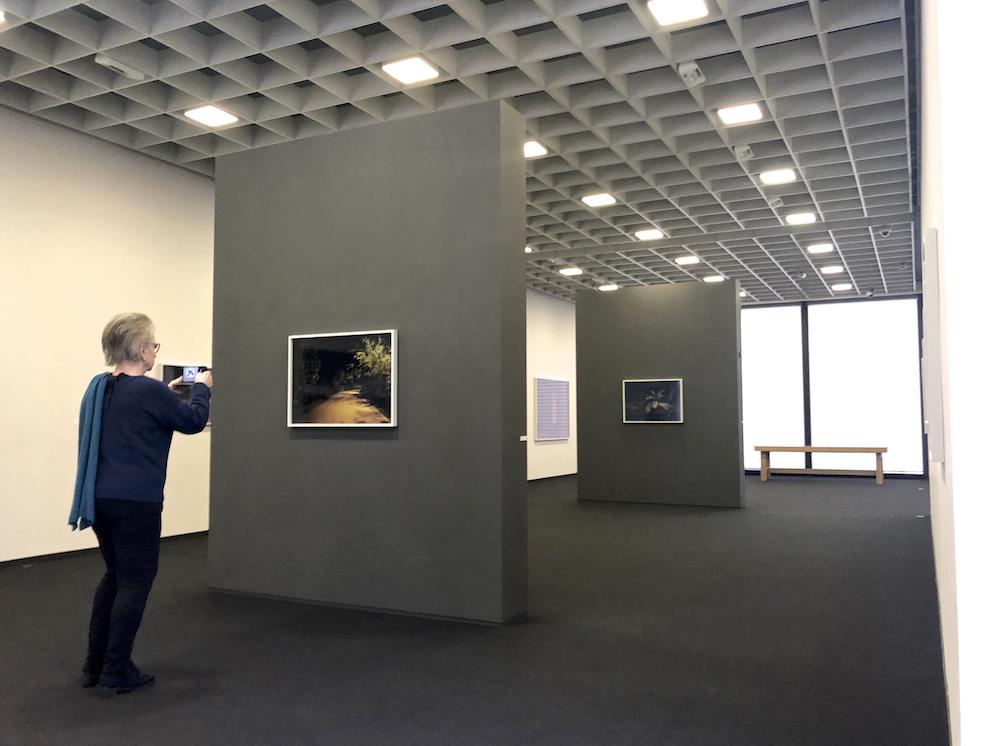 Blick in den Ausstellungsraum.