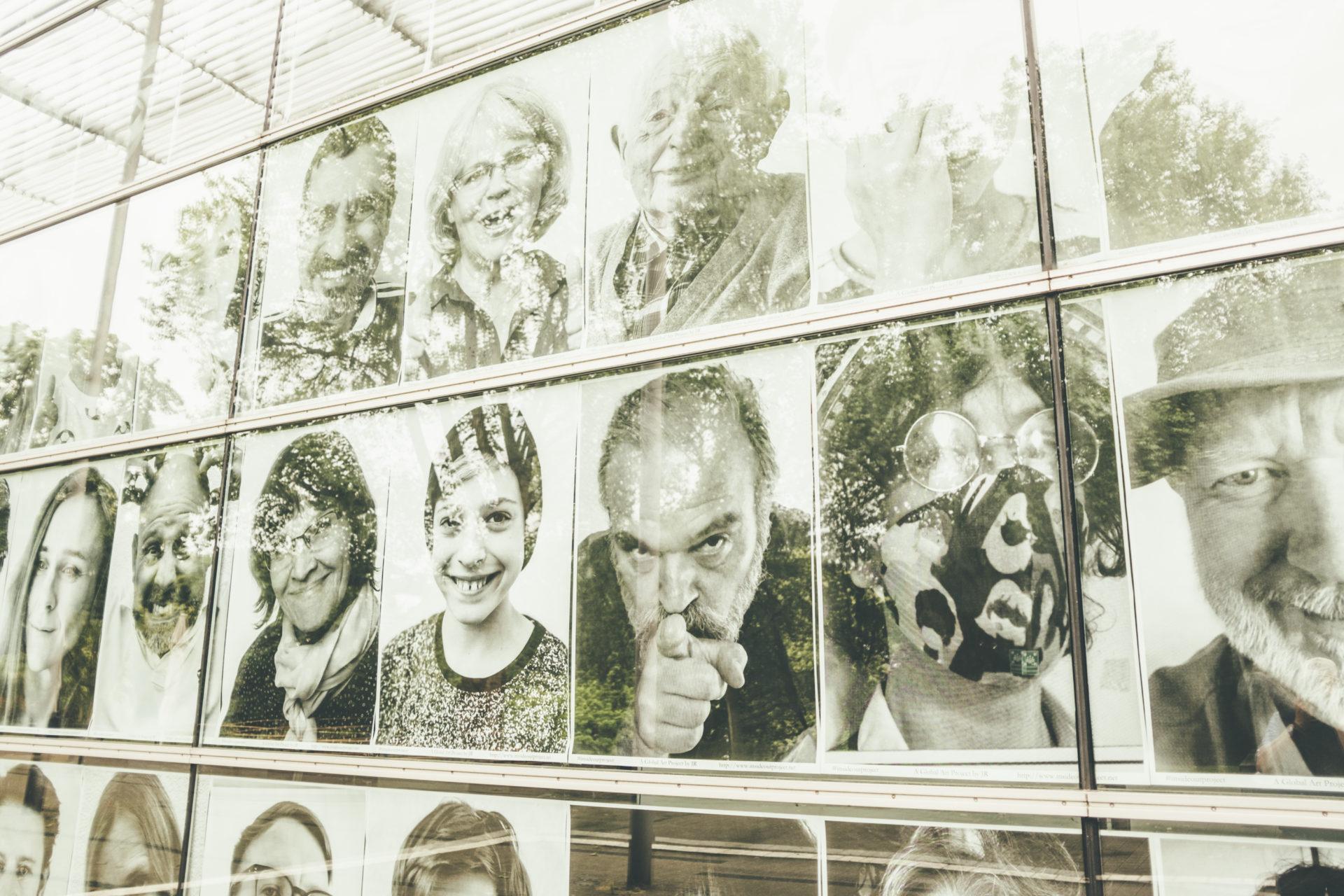 JR - Fotoinstallation: 'Geschichten von 757 Besucher*innen und Künstler*innen der Ruhrfestspiele', Foto: knsye
